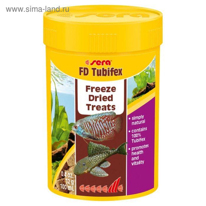 Корм для рыб для улучшения окраскиsera FD Tubifex 100 мл, 12 г.