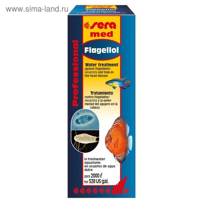 Кондиционер для аквариумной воды Sera med Professional Flagellol, 50 мл.