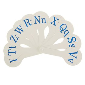 Касса «Веер», английские согласные буквы
