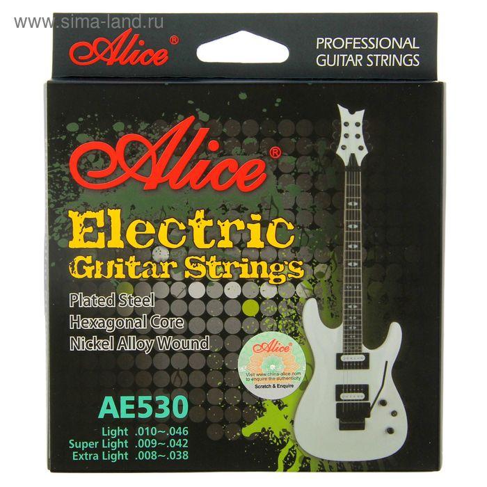 Комплект струн электрогитары Alice AE530L 532 LIGHT