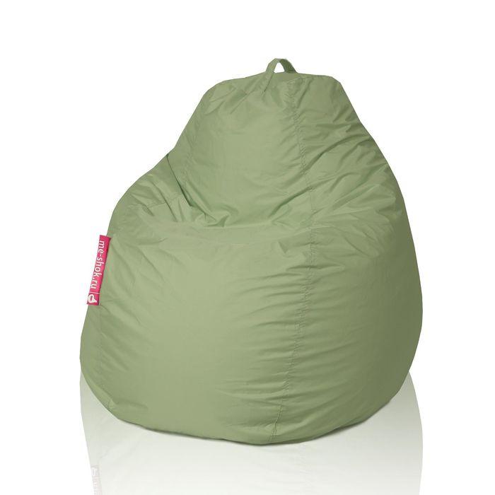 Кресло - мешок «Пятигранный», диаметр 82 см, высота 110 см, цвет оливковый