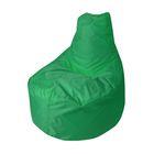 """Кресло-мешок """"Банан"""", диаметр 90 см, высота 100 см, цвет зелёный Oxford"""