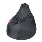 "Кресло-мешок ""Капля M"", диметр 100 см, высота 140 см, цвет серый Oxford"