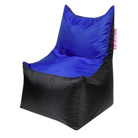 Кресло - мешок «Трон», ширина 70 см, глубина 70 см, высота 110 см, цвет синий