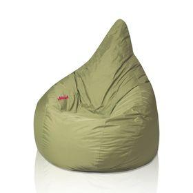 Кресло - мешок «Груша», диаметр 90, высота 140, цвет оливковый