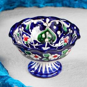 {{photo.Alt || photo.Description || 'Варенница Риштанская Керамика, 0.2 л, 13см, синяя'}}