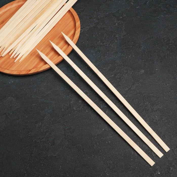 Набор шампуров 35 см, 25 шт