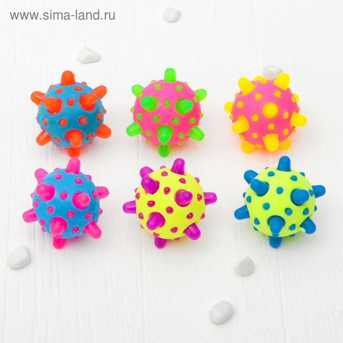 """Мяч световой """"Метеорит"""", цвета МИКС"""