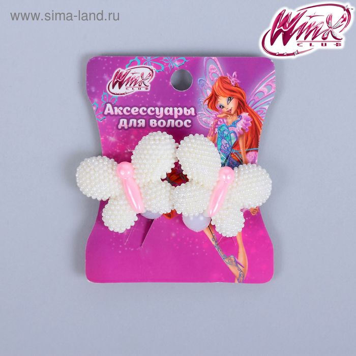 Набор резинок с бабочкой Феи ВИНКС, 2 шт., 6 х 7,2 см