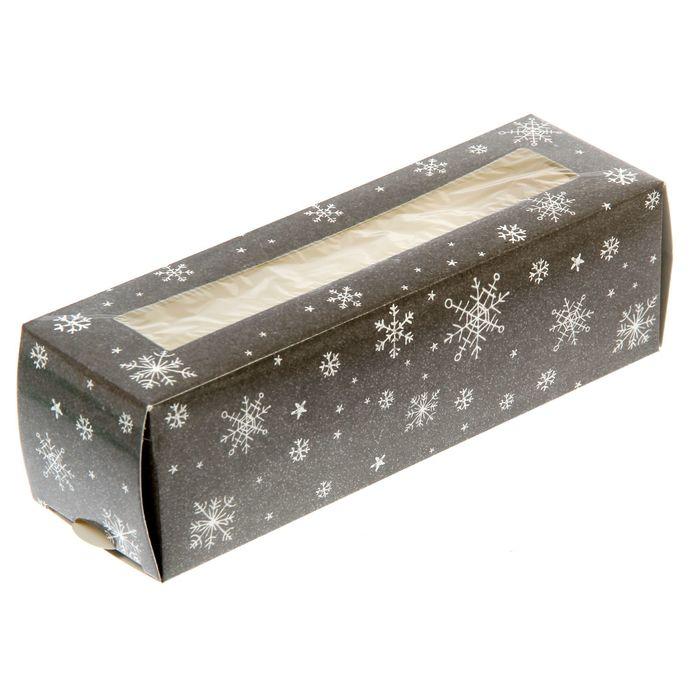 """Коробочка для макарун """"Сказочного настроения"""", 18 х 5,5 х 5,5 см"""