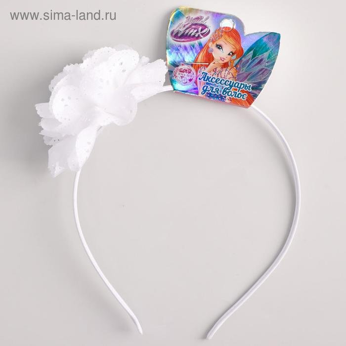 Ободок для волос с бантом Феи ВИНКС, 11 х 16 см