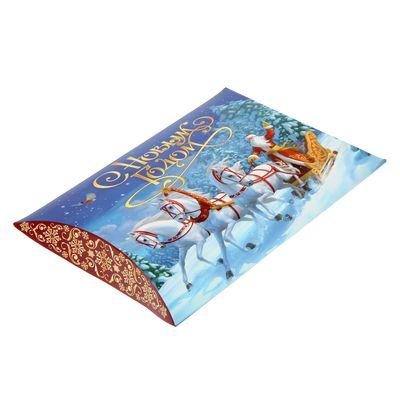 Коробка складная фигурная «Новогодняя тройка», 26 × 19 × 4 см