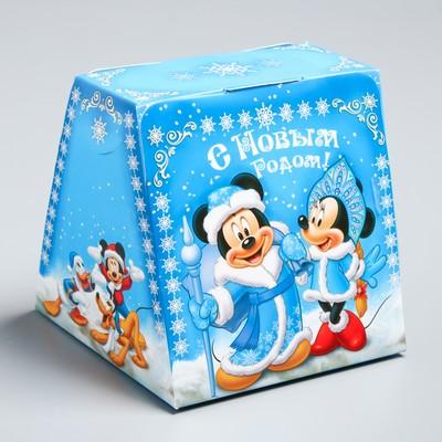 """Коробка подарочная """"Радости!"""" Микки Маус и друзья, 11,5 х 11,5 х 11,5 см"""