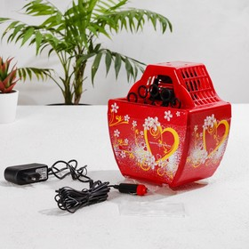 The generator of soap bubbles, 5 W 12-220 V, with adapter