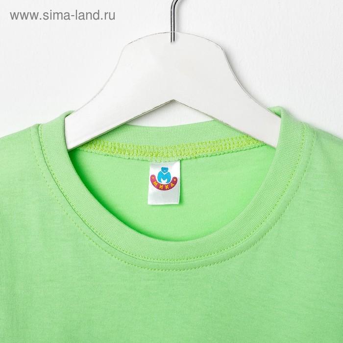 Футболка для девочки, рост 116 см (60), цвет МИКС (арт. 5341/1М_Д)