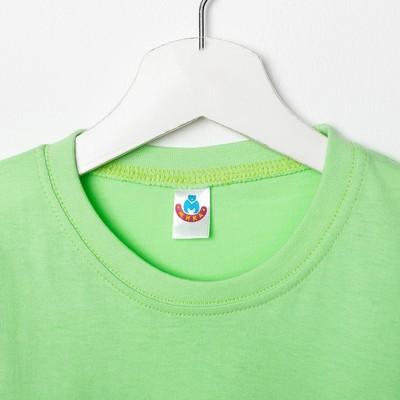Футболка для девочки, рост 122 см (64), цвет МИКС (арт. 5341/1М_Д)