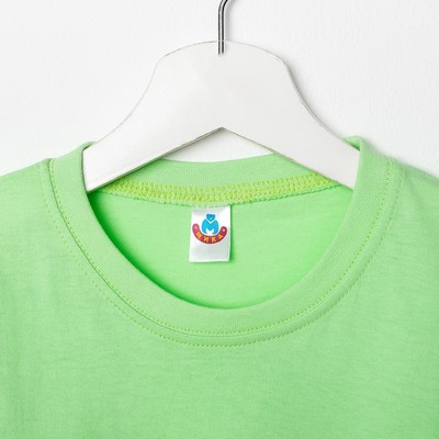 Футболка для девочки, рост 128 см (64), цвет МИКС (арт. 5341/1М_Д)