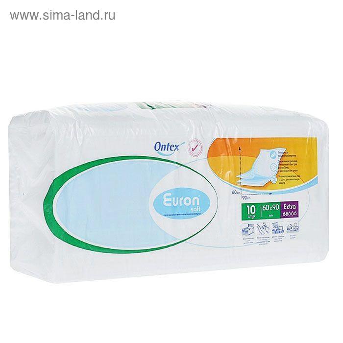 Простыни впитывающие Euron Soft Extra, 60 × 90, 10 шт.
