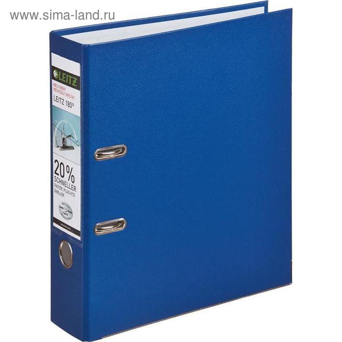 Папка-регистратор А4, 80мм Leitz L-1010, синий