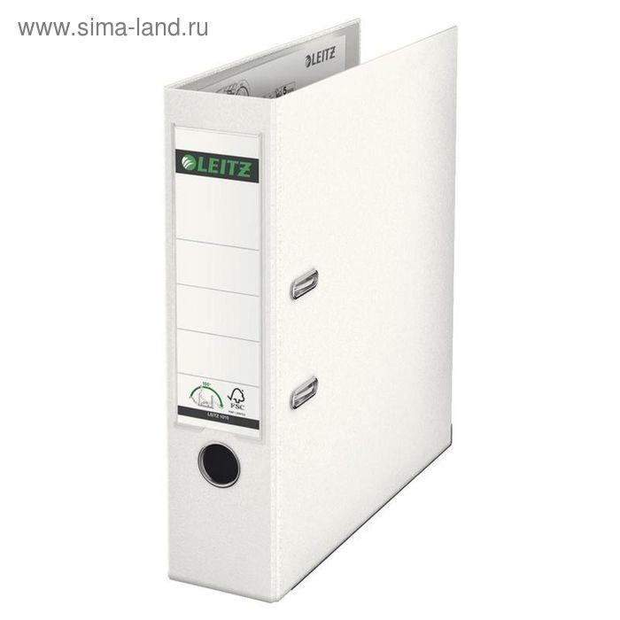Папка-регистратор А4, 80мм Leitz 180° L-1010, белый