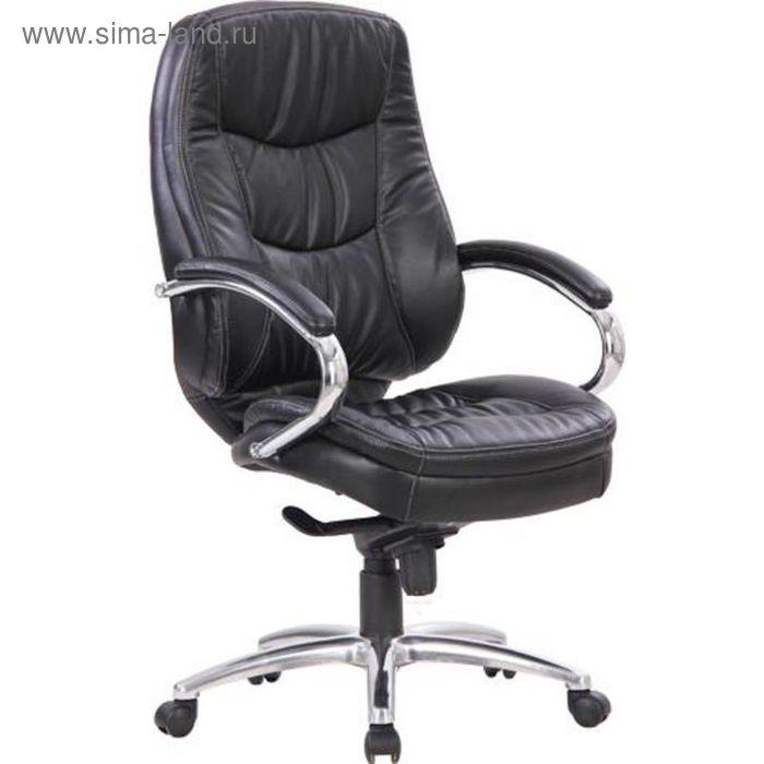 Кресло для руководителя EChair CS-620E-6 черное (искусственная кожа/металл)