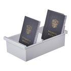 Картотека Exacompta А7 на 600 карточек, 225x123x65 мм