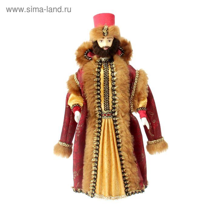 """Авторская сувенирная кукла """"Восточный шейх"""""""