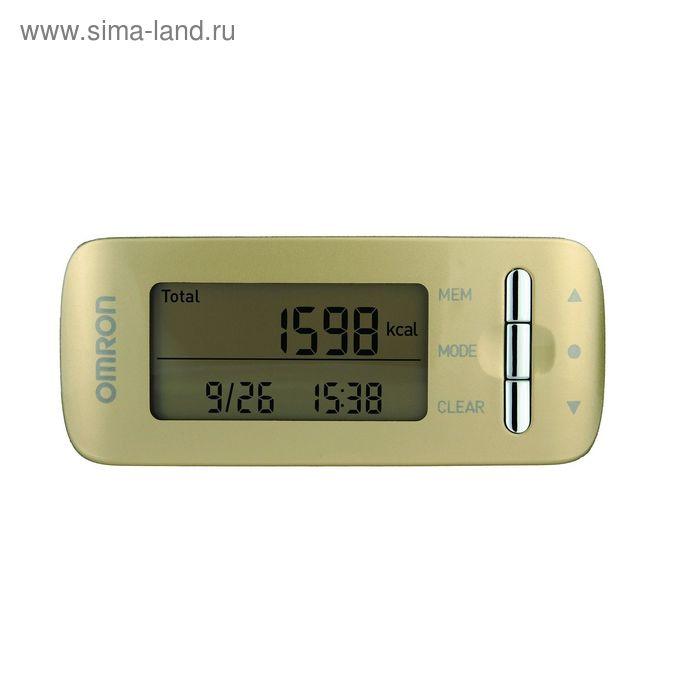 Монитор активности OMRON HJA-306-EGD (золотой)