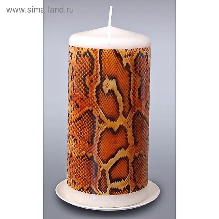 """Свеча пеньковая """"змея 1"""""""