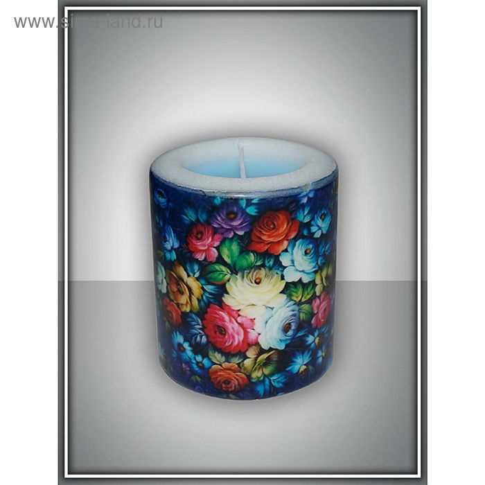 """Свеча интерьерная """"жостово"""" арома медитация №2"""