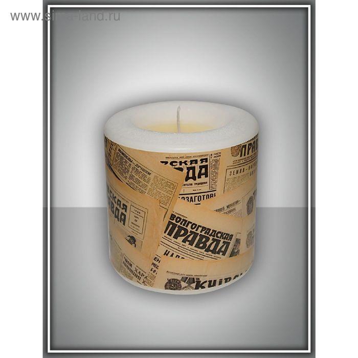 "Свеча интерьерная ""винтажная"" арома медитация №4"