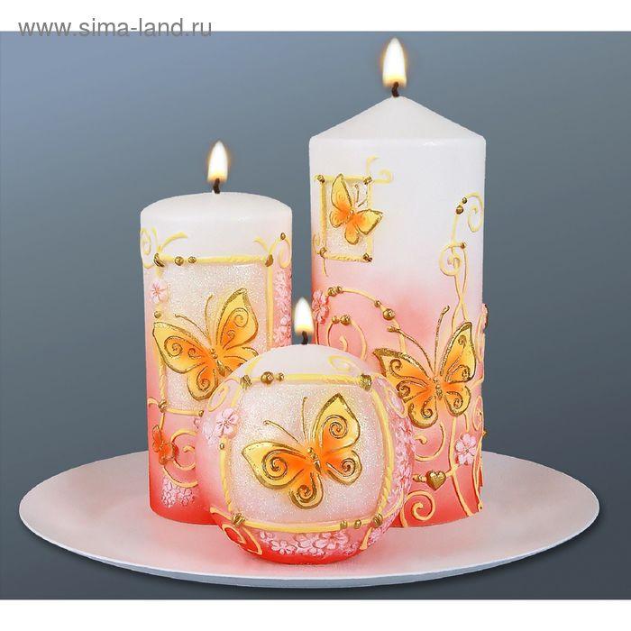 """Набор свечей """"бабочки"""""""