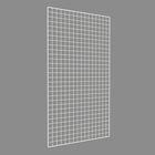 Сетка торговая 80*150, окантовка 8мм, пруток - 4мм, цвет белый - фото 891264