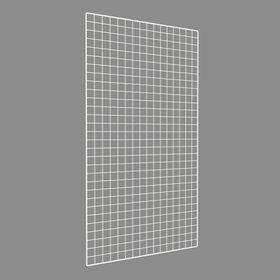 Сетка торговая 80*150, окантовка 8мм, пруток - 4мм, цвет белый Ош