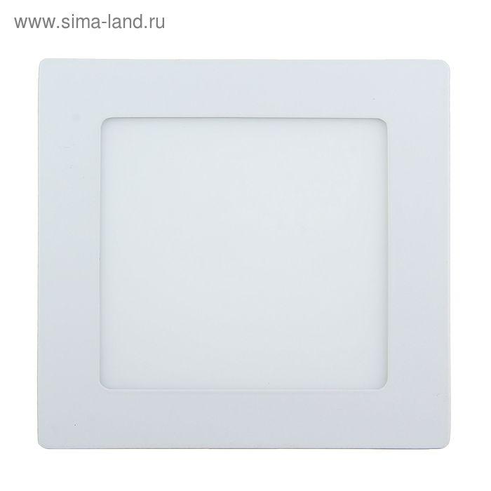 Панель квадратная встраиваемая 145х145 мм, 9 W, LED-45-2835-630Lm-6500К-120deg-160-260V