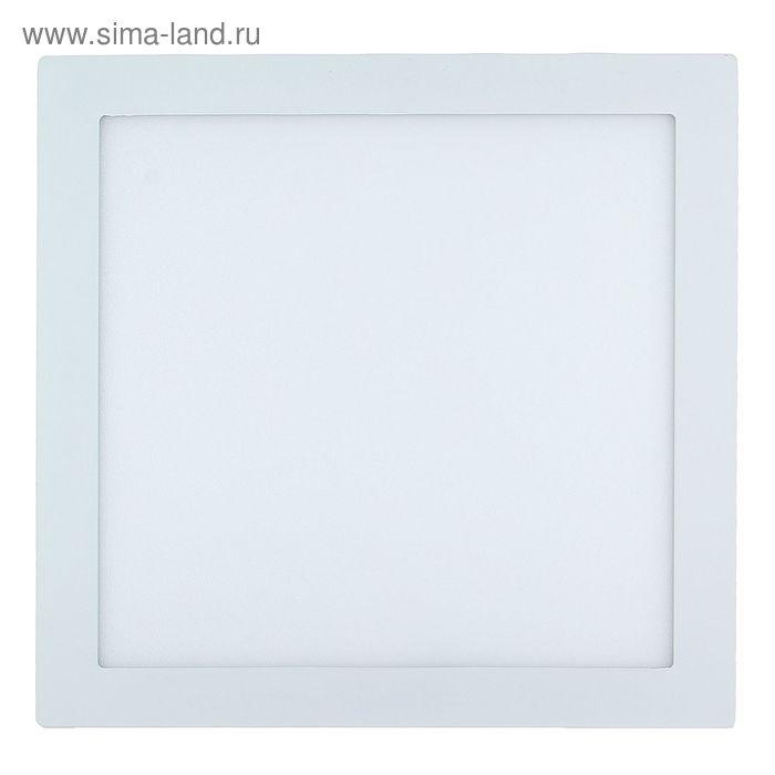 Панель квадратная встраиваемая 300х300 мм, 25 W, LED-125-2835-1750Lm-4000К-120deg-160-260V 143159