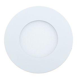 Панель круглая встраиваемая D 85 мм, 3 W, LED-15-2835-210Lm-4000К-120deg-160-260V