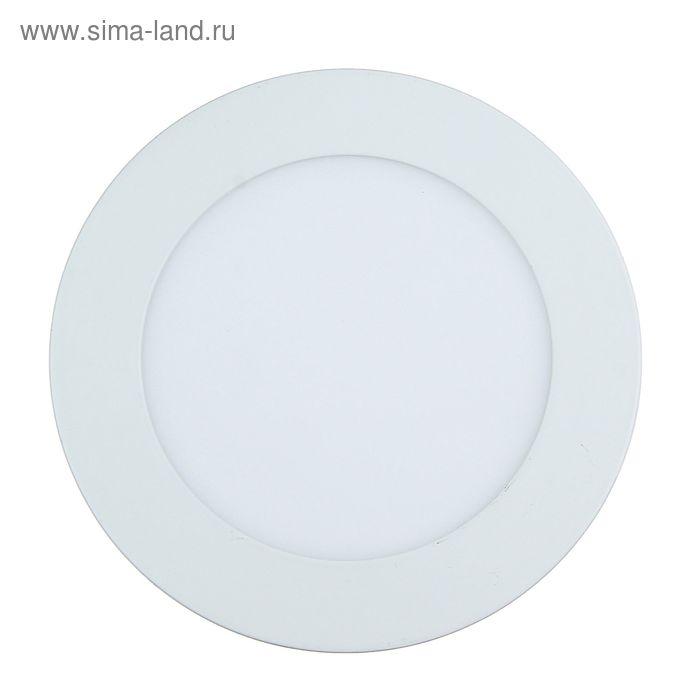 Панель круглая встраиваемая D 145 мм, 9 W, LED-45-2835-630Lm-4000К-120deg-160-260V