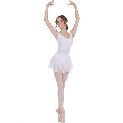 Юбка для гимнастики «Лепесток», размер 34, цвет белый