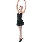 Юбка для гимнастики «Лепесток», размер 30, цвет чёрный