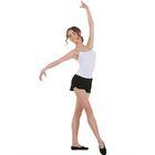Шорты для гимнастики, размер 32, цвет чёрный