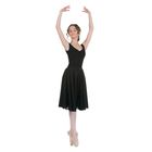 Юбка для гимнастики, размер 38, цвет чёрный