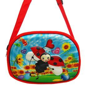 Мягкая сумочка «Божья коровка», 3Д