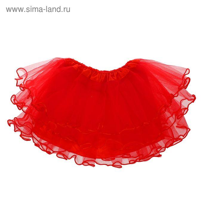 Карнавальная юбка 4-х слойная 4-6 лет
