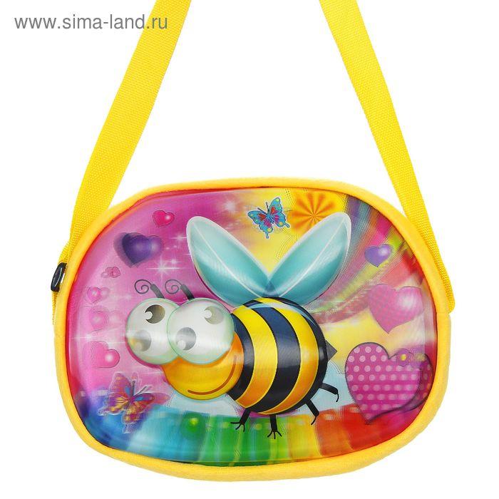 """Мягкая сумочка 3Д """"Пчелка"""""""