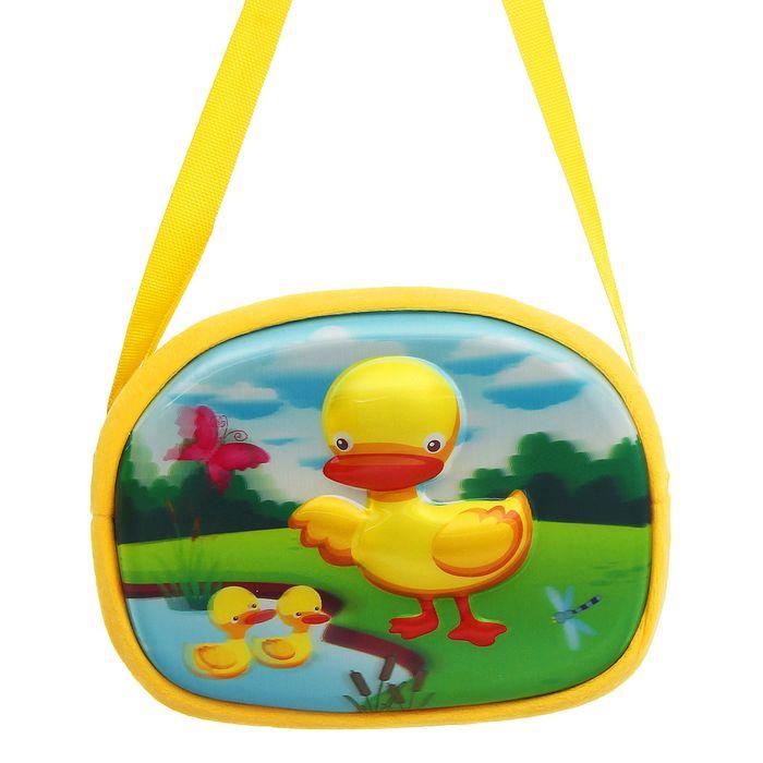 Мягкая сумочка 3Д «Уточки» - фото 685582812