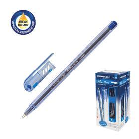 """Ручка шариковая масляная Pensan """"My-Pen"""", чернила синие, корпус тонированный, узел 1 мм, линия письма 0,5 мм"""