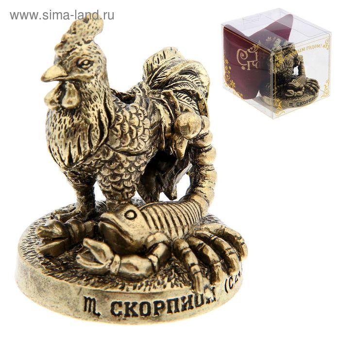 """Новогодняя фигурка знак зодиака """"Скорпион"""""""