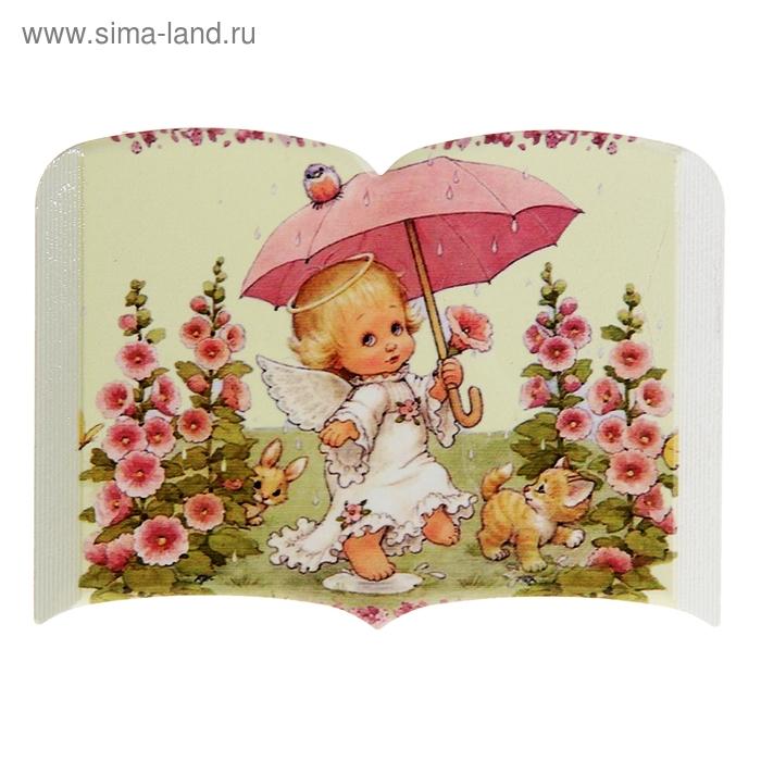 """Панно декоративное """"Ангел с зонтом"""""""
