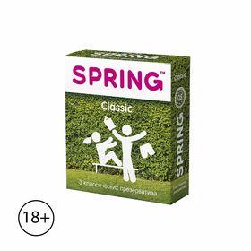 Презервативы Spring Classic «Классические», 3 шт.